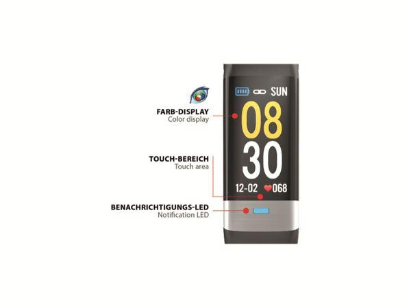 Fitness-Armband SWISSTONE SW 620 ECG, schwarz - Produktbild 2