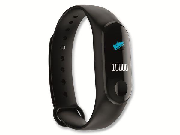 Fitness-Armband DENVER BFH-155, schwarz