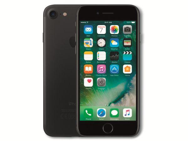 Handy Apple iPhone 7, 128 GB, schwarz, Refurbished