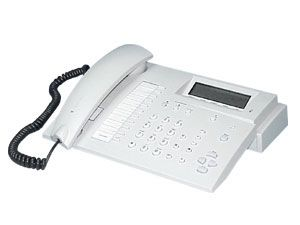 ISDN-Komforttelefon Europa 20, weißgrau