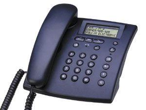 Komfort-Telefon UHER TEL50, Farbe dunkelblau