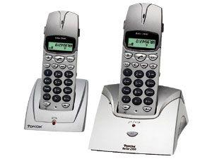 Schnurloses Telefon TOPCOM Butler 2900 Twin Pack