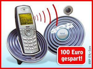 Schnurloses DECT-Telefon tiptel easyDECT 5500