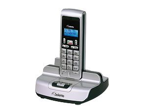 Schnurloses DECT-VoIP-Telefon DeTeWe BeeTel 612