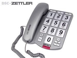 Großtasten-Telefon DSC-ZETTLER NOT-TEL 4