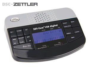 Digitaler Anrufbeantworter DSC-ZETTLER ZET-Com 150 - Produktbild 1