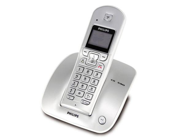 Schnurloses DECT-Telefon PHILIPS CD 530 - Produktbild 1