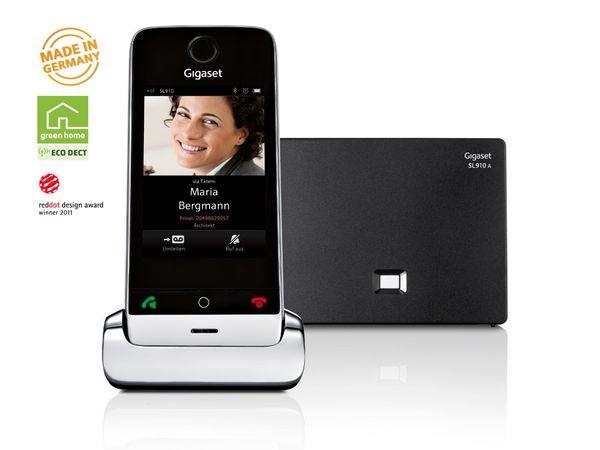 Schnurloses DECT-Telefon GIGASET SL910A - Produktbild 1