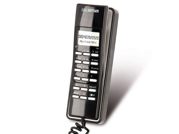 Telefon DSC-ZETTLER ZET-PHONE 15, schwarz
