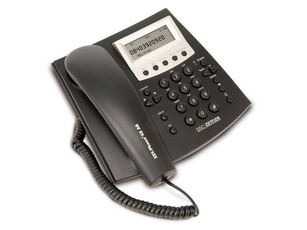 Telefon mit Anrufbeantworter DSC-ZETTLER ZET-PHONE 45, schwarz - Produktbild 1