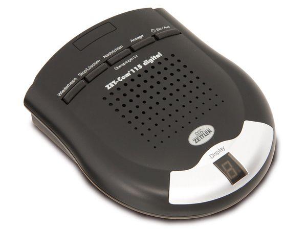 Digitaler Anrufbeantworter DSC-ZETTLER ZET-COM 115