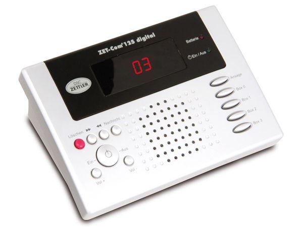 Digitaler Anrufbeantworter DSC-ZETTLER ZET-COM 125
