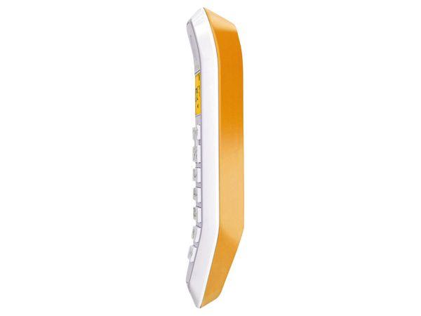 DECT-Telefon MOTOROLA STARTAC S1201, orange - Produktbild 2