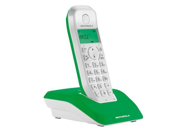 DECT-Telefon MOTOROLA STARTAC S1201, grün