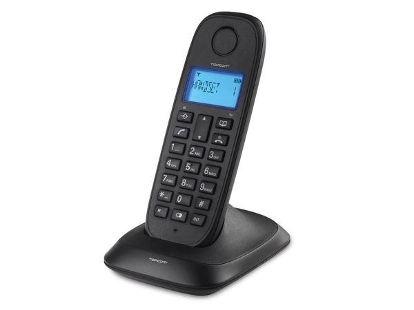 Telefon TOPCOM TE-5730, schwarz - Produktbild 1