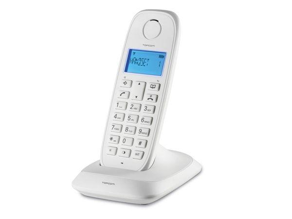 Telefon TOPCOM TE-5731, weiß - Produktbild 1