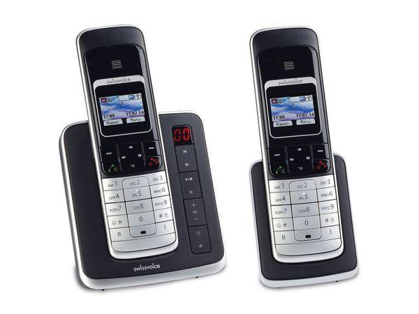 DECT-ISDN-Telefon SWISSVOICE Eurit 459 TAM Colour - Produktbild 1