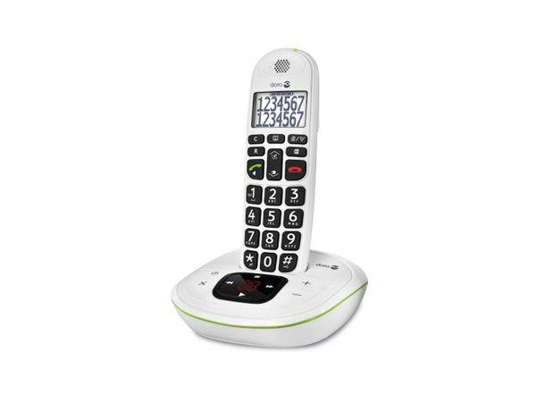 Schnurloses DECT-Telefon DORO PhoneEasy 115, weiß - Produktbild 3