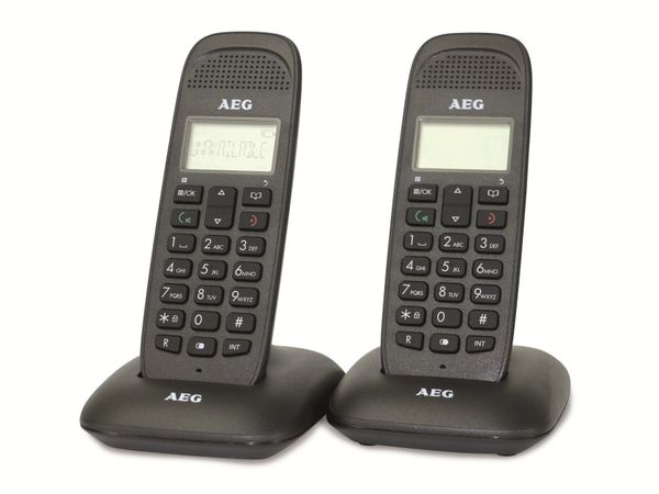 DECT-Telefon AEG VOXTEL D85 TWIN, 2 Mobilteile - Produktbild 1