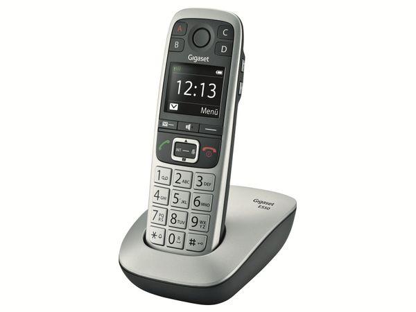 DECT-Telefon GIGASET E550 Platin