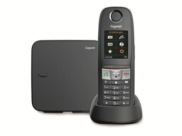 Schnurloses DECT-Telefon GIGASET E630, schwarz