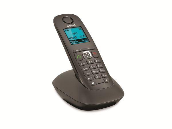 Schnurloses DECT-Telefon GIGASET A540, anthrazit-schwarz - Produktbild 1