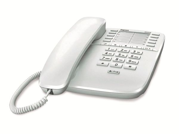 Telefon GIGASET DA510, weiß