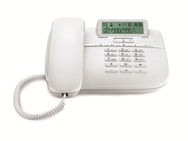 Telefon GIGASET DA610, weiß