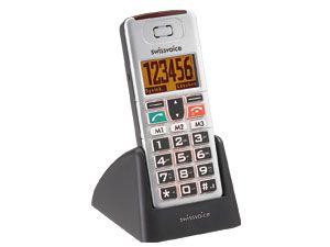 Großtasten-Mobiltelefon SWISSVOICE MP01 - Produktbild 1