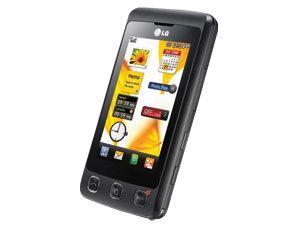 Touchscreen-Handy LG KP500