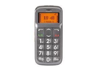 Großtasten-Mobiltelefon Swissvoice MP04 - Produktbild 1