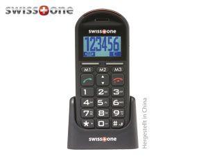 Großtasten-Mobiltelefon SWISSTONE BBM200 - Produktbild 1