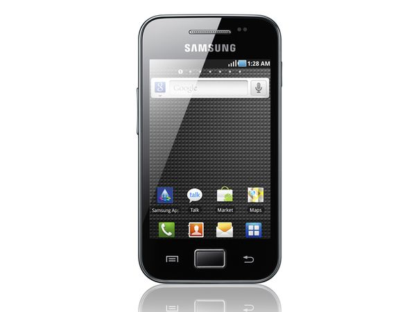 Android Smartphone SAMSUNG Galaxy Ace S5830, onyx black - Produktbild 1