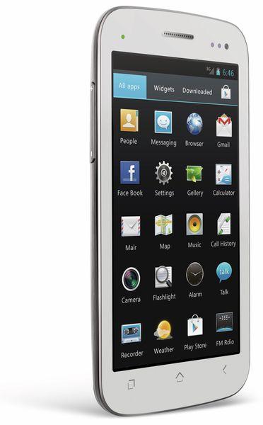 Dual-SIM Touchscreen-Handy MOBISTEL CYNUS T2, weiß - Produktbild 1
