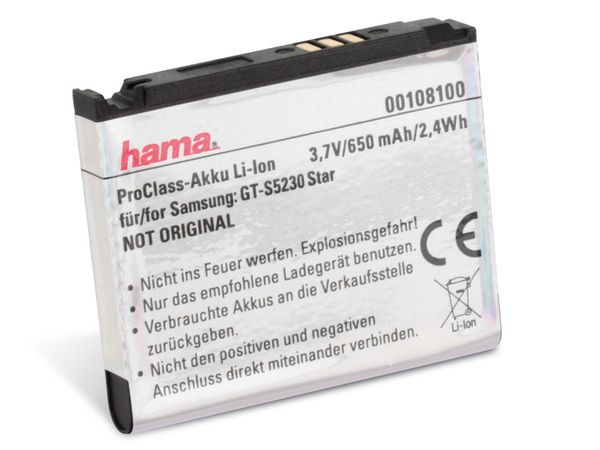 Handy-Akku HAMA ProClass 108100