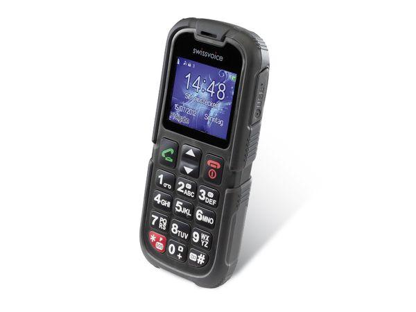 Outdoor-Handy SWISSVOICE SV39, schwarz - Produktbild 1