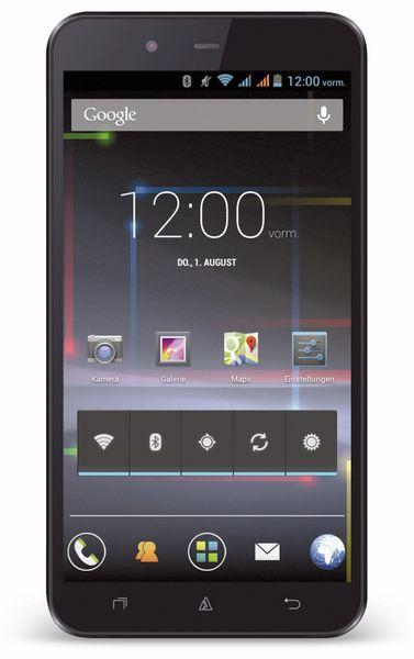 Dual-SIM Touchscreen-Handy AVUS A24, schwarz - Produktbild 1