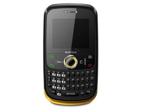 Dual-SIM Handy MOBISTEL EL400 gelb - Produktbild 1