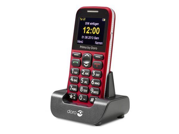 Mobiltelefon DORO Primo 365, rot - Produktbild 1