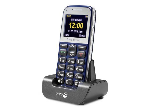 Mobiltelefon DORO Primo 365, schwarz - Produktbild 1