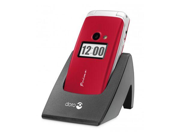 Mobiltelefon DORO Primo 413, rot - Produktbild 1