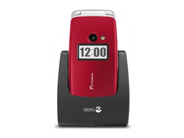 Mobiltelefon DORO Primo 413, rot - Produktbild 2