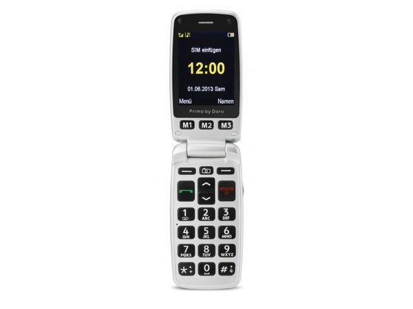 Mobiltelefon DORO Primo 413, rot - Produktbild 3
