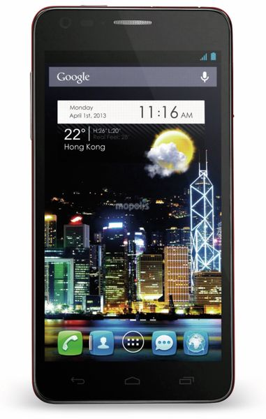 Touchscreen-Handy ALCATEL ONE TOUCH IDOL ULTRA, schwarz - Produktbild 1