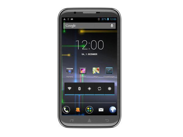 Dual-SIM Touchscreen-Handy AVUS A57, schwarz - Produktbild 1