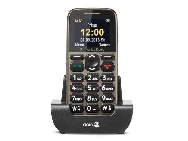 Großtasten-Mobiltelefon DORO, Primo 215, beige - Produktbild 1
