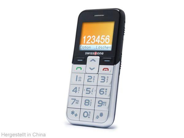 Großtasten-Mobiltelefon SWISSTONE BBM550 - Produktbild 1