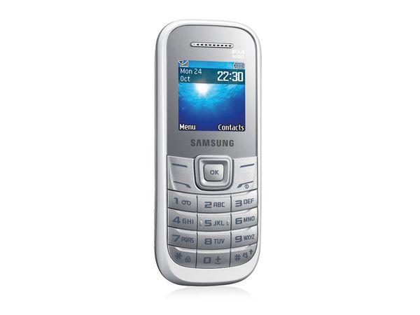 Mobiltelefon SAMSUNG E1200, weiß - Produktbild 1