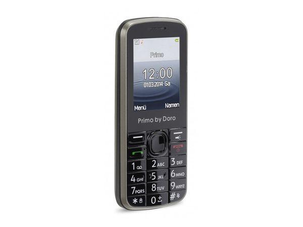Komfort-Mobiltelefon DORO, Primo 305, pearl grey - Produktbild 1