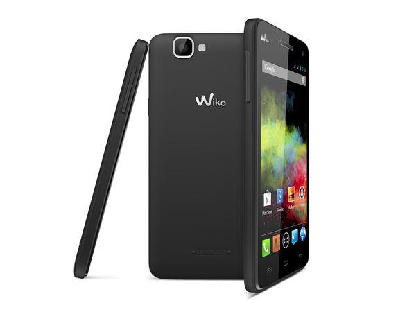 Dual-SIM Smartphone WIKO Rainbow, schwarz